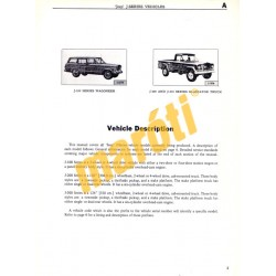Jeep Service Manual J-series (J-100, J-200, J-300)