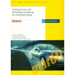 Lichttechnik und Scheibenreinigung am Kraftfahrzeug