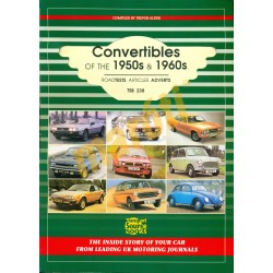 Convertibles of The 1950s & 1960s