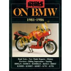 On BMW 1981-1986