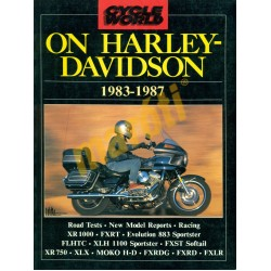 On Harley Davidson 1983-1987