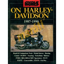 On Harley Davidson 1987-1990