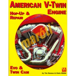 American V-Twin engine - Hop-Up & Repair