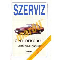 Opel Rekord E 1982-től (Javítási kézikönyv)