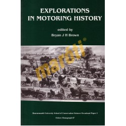 Explorations in Motoring History