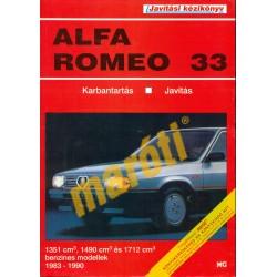 Alfa Romeo 33 (1983-1990) (Javítási kézikönyv)