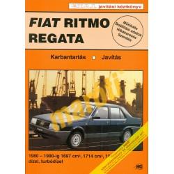 Fiat Ritmo Regata D-TD 1980-tól (Javítási kézikönyv) - sérült