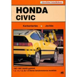 Honda Civic (1987-1991) benzin (Javítási kézikönyv)