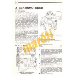 Mitsubishi Galant (1984-1988) (Javítási kézikönyv)