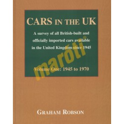 Cars in The UK Volume One: 1945-1970