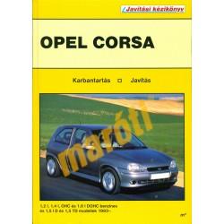 Opel Corsa 1993-tól 1995-ig (Javítási kézikönyv)