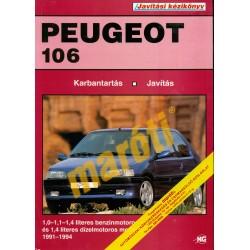 Peugeot 106 (1991-1994) (Javítási kézikönyv)