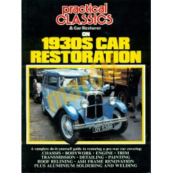 Practical Classics & Car Restorer on 1930S Car Restoration