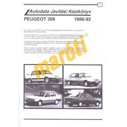 Peugeot 309 (1986-92) benzin és dízel (Javítási kézikönyv)