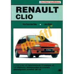 Renault Clio 1991-től (Javítási kézikönyv)