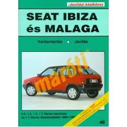 Seat Ibiza es Malaga (1984-1992) (Javítási kézikönyv)
