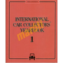 International Car Collectors Yearbook 1