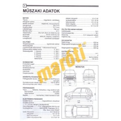Suzuki Maruti 800 1980-tól (Javítási kézikönyv)