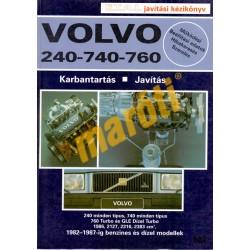 Volvo 240-740-760 (1982-1987) (Javítási kézikönyv)