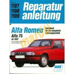 Alfa Romeo 75  1987-től (Javítási kézikönyv)