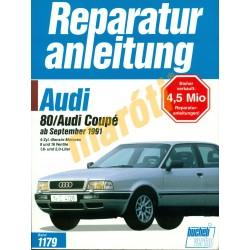 Audi 80 Coupé 1991-től (Javítási kézikönyv)