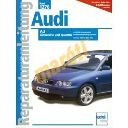 Audi A3 Limousine, Audi A3 Quattro (Javítási kézikönyv)