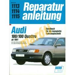 Audi 100, Audi 100 Quattro 1991-től (Javítási kézikönyv)