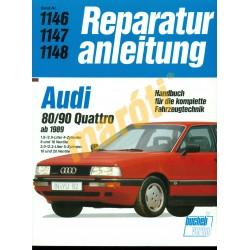 Audi 80/90 Quattro 1989-től (Javítási kézikönyv)