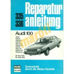 Audi 100 1976-tól 1980-ig (Javítási kézikönyv)