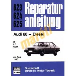 Audi 80 Diesel 1980-tól (Javítási kézikönyv)