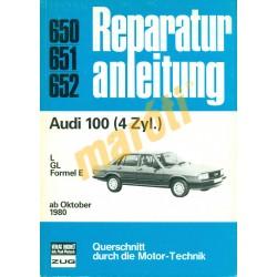 Audi 100 4zyl  (Javítási kézikönyv)