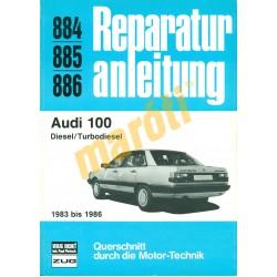 Audi 100 diesel 1983-tól 1986-ig (Javítási kézikönyv)
