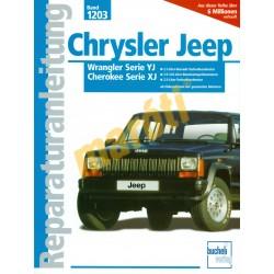 Chrysler Jeep Wrangler, Cherokee (Javítási kézikönyv)