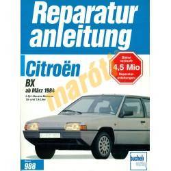 Citroen BX 1984-től (Javítási kézikönyv)