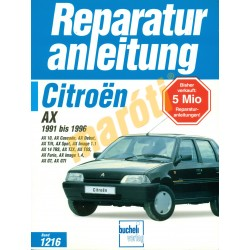 Citroen AX 1991-1996 (Javítási kézikönyv)