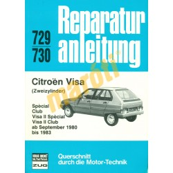 Citroen Visa 1980-1983 (Javítási kézikönyv)