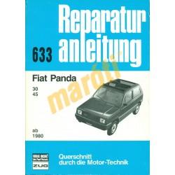 Fiat Panda 1980-tól (Javítási kézikönyv)