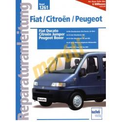 Fiat Ducato, Citroen Jumper, Peugeot Boxer  2000 - 2002 (Javítási kézikönyv)