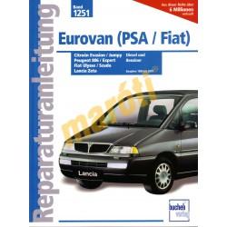 Citroen Evasion / Jumpy ; Peugeot 806 / Expert; Fiat Ulysse / Scudo ; Lancia Zeta (Javítási kézikönyv)
