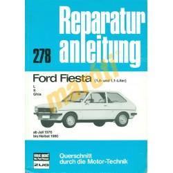 Ford Fiesta 1976-tól (Javítási kézikönyv)