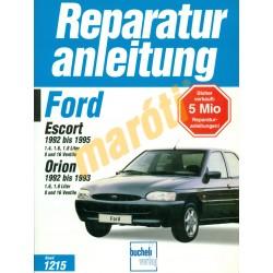 Ford Escort, Orion 1992-től (Javítási kézikönyv)
