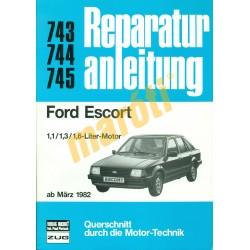 Ford Escort 1982-től (Javítási kézikönyv)