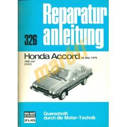 Honda Accord 1976-tól (Javítási kézikönyv)