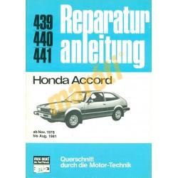 Honda Accord 1978-tól (Javítási kézikönyv)