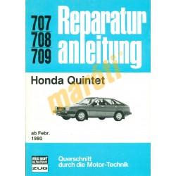 Honda Quintet 1980-tól (Javítási kézikönyv)