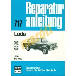 Lada 1200 / 1300 / 1500 / 1600  1970-1983 (Javítási kézikönyv)