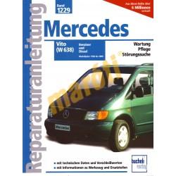 Mercedes Vito (W638) benzin diesel 1996 - 2000 (Javítási kézikönyv)