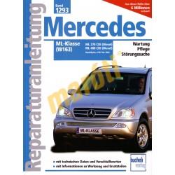 Mercedes ML-Klasse (W163) Diesel 1997 - 2004 (Javítási kézikönyv)