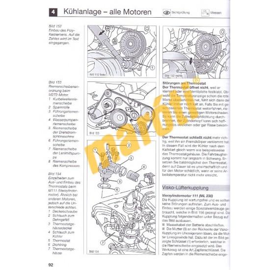 Mercedes ML-Klasse W163, W164 (Javítási kézikönyv)