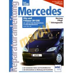 Mercedes Vito, V-Klasse (W638) benzin, diesel 2000 - 2003 (Javítási kézikönyv)